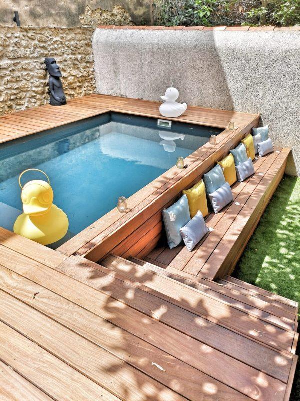 lampe canard piscine outdoor exterieur