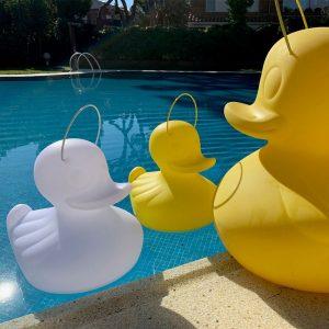 Lampe flottante LED portative duck canard