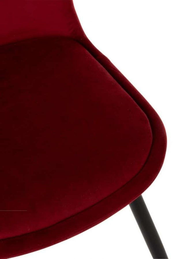 chaise-velours-bordeaux-lanostradeco