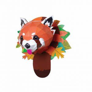 trophée panda enfant diy agent paper