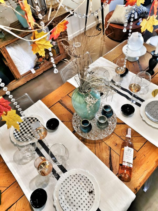 assiette-noel-art de la table-lanostradeco