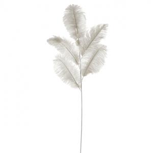 plume-autruche-blanche-feuillage-lanostradeco