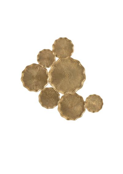 decoration-murale-fleurs-dorées-lanostradeco