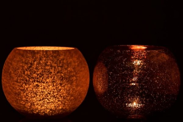 photophore-verre-sphère-rose-lanostradeco