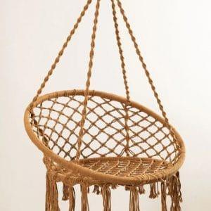 chaise-suspendue-ocre-terracotta-lanostradeco